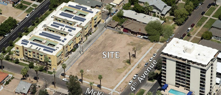 Future McKinley Row Townhome Site - Phoenix, AZ